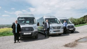 Candy Tours high end 16 seater minibuses